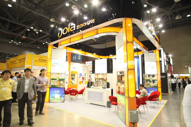 This is a Joia Trading company which participated in Seoul Food in 2013. Joia Trading is dealing with organic foods.