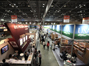This is a panoramic photograph of international pavilion in the exhibition Seoul Food, 2013.